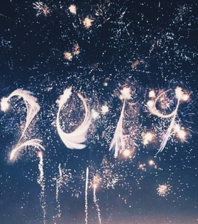 new year, night and outdoors