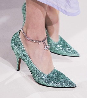 shoes, haute couture and fashion
