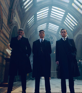 thomas shelby, arthur shelby and peaky blinders