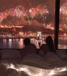 firework, love and couple