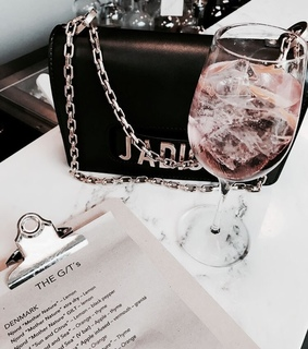 drinks, bag and reading