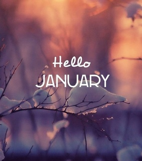 january, bye 2018 and hello january