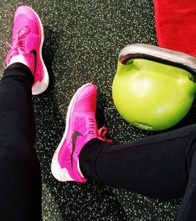 sport, pink and healthy