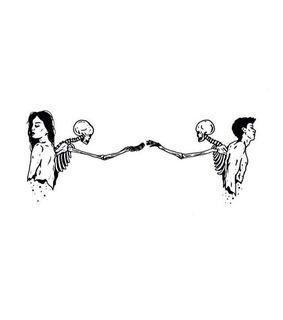 relationship, connection and girl