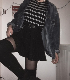 aesthetic, fashion and dark