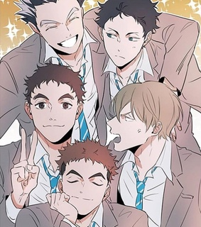 ushimjima, haikyuu teams and karasuno