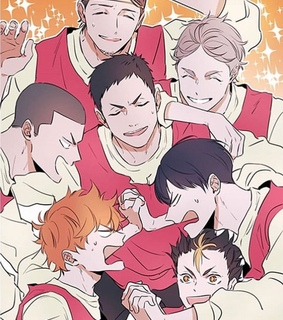 ushimjima, shiratorizawa and haikyuu teams