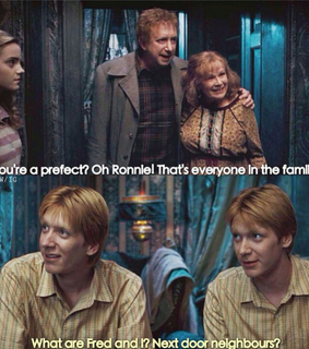 fred weasley, phelps and james phelps