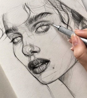 beautiful, gorgeous and drawing