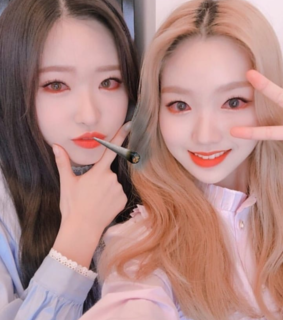 son hyejoo, iii and park chaewon