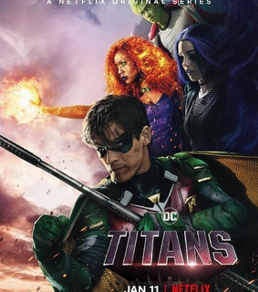 beast boy, starfire and titans