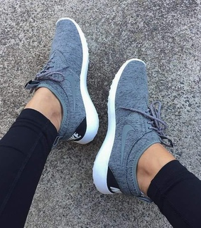 shoes, gris and sneakers