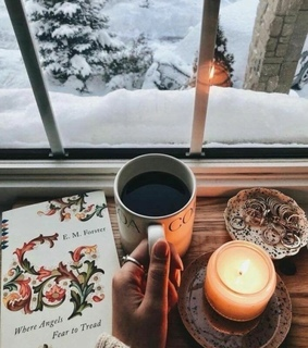 coffee, winter and drink