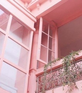 room, pink and house