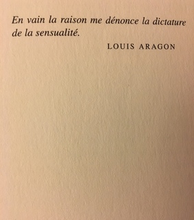 posie, louis aragon and francais