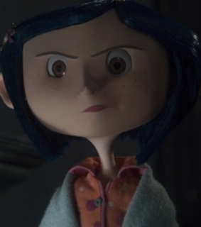 coraline, movie and ghost