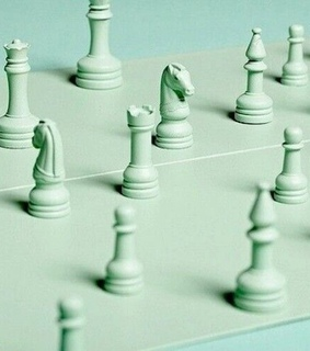 green, chess and pale green