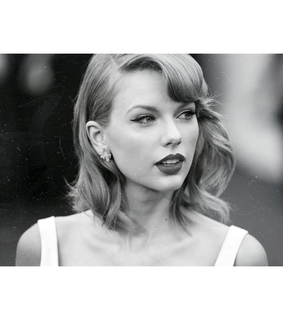 1989, taylor swift and black and white