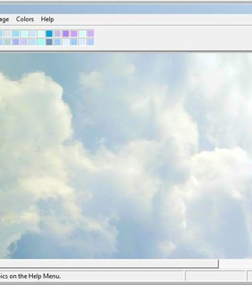 angelic, clouds and retro