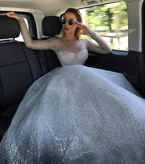 girl, prom and dresses