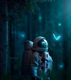 glow, astronomy and science