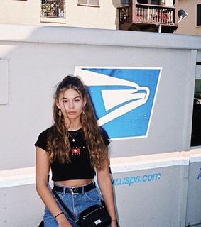 indie, model and mail