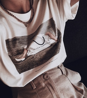 casual, graphic tee and style
