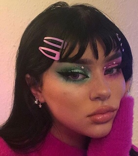 makeup, site model girl icon and girl icons