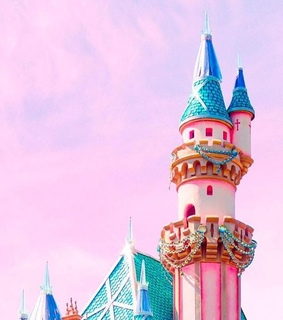 pink, disney and happyplace