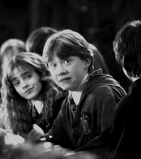 ron weasley, gryffindor and harry potter