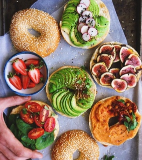healthy, aesthetic and food