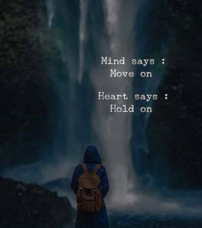 lonely, sad and hold on