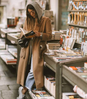 sunglass, books and style