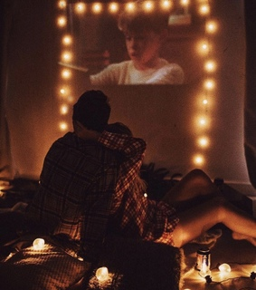 evening, film and relationship