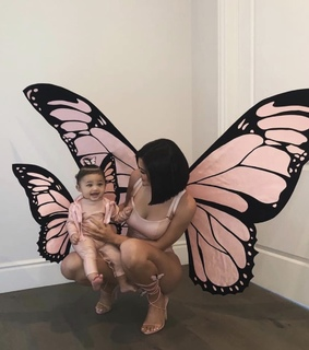 baby, kylie jenner and butterfly