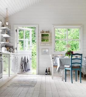 cottage life, country house and cozy cottage