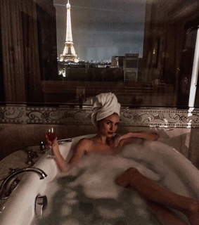 night out, france and bathtub