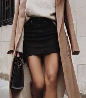 coats, skirt and bossbabe
