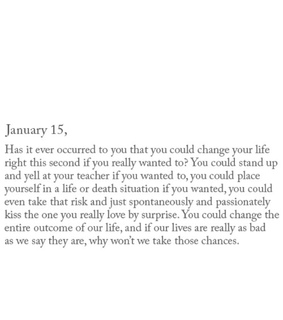 change, life and quote