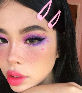 makeup aesthetic, site model and site model girl icon