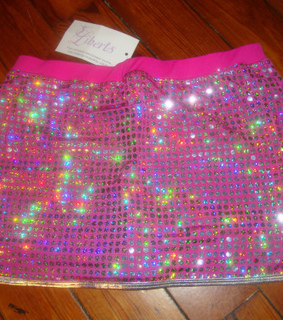 miniskirt, rave and holographic
