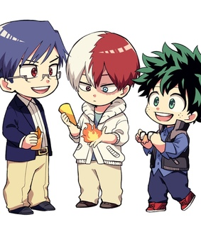 hero academy, midoriya izuku and boku no hero academia