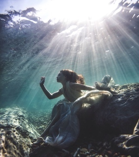 indie, hipster and underwater
