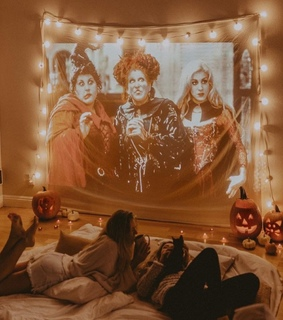 friendship, fun and halloween movies