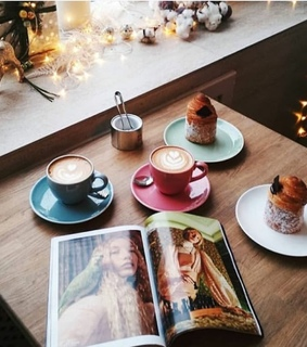 morning inspo, pastry and inspiration