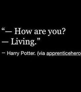 harry potter, lying and depressed