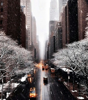 snow, bgig bbgbu and new york