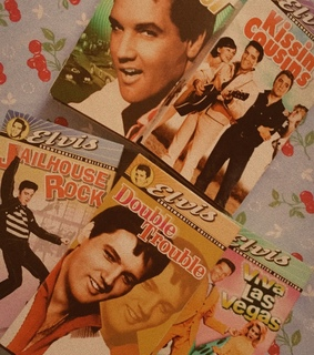 60s, 1950s aesthetic and elvis