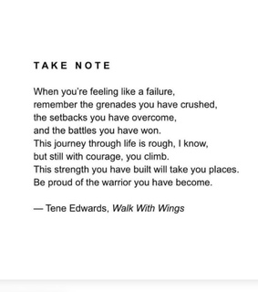 setbacks, win and courage
