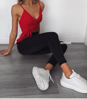 inspiration, goals and red top